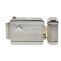 téléphone de contrôle d'accès achat en gros de-DIYSECUR NO Modèle Système de sécurité de serrure de porte à serrure électronique pour Veideo Système de contrôle d'accès pour sonnette de porte