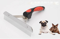 Wholesale Hair Nails Supplies - fur wizard pet supplies stainless steel Nail rake comb Cleaning For Gentle And Efficient Massage Dog Brush Comb Pet Hair Cleaning Tools