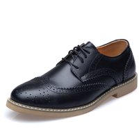 Wholesale High Quality Stylish Wedding Dress - Elegant and stylish high quality vintage leather shoes men's casual shoes Sneakers Shoes United Kingdom style with fashion 2016 lace sewing