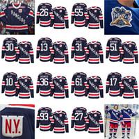Wholesale Green Ranger Spandex - 2018 Winter Classic New York Rangers 31 ondrej pavelec 55 nick holden 51 david desharnais 13 kevin hayes 17 jesper fast Jersey Navy