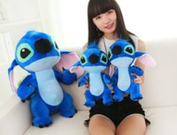 Wholesale Baby Giants - 2017 Giant Large Big Lilo Stitch Stuffed animals Plush Baby Soft Toys Doll gift