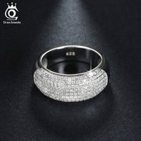Wholesale Zirconia Solitaire Rings - Beautiful 168 Pieces Cubic Zircon Diamond Ring White Gold Plated Women Rings Fashion Jewelry Wholesale OR122