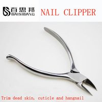 Wholesale Toenail Clippers for Thick Ingrown Nails Surgical Grade Stainless Steel
