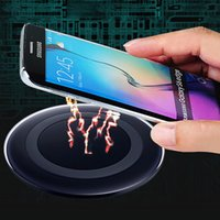 Wholesale Wirless Adapter - Wireless Charger Universal Qi Fast Charging Pad Mobile Phone Adapter Wirless Charge for iPhone 8 X Samsung S7 S6