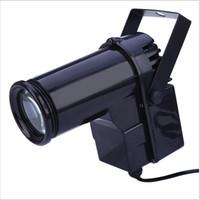enchufe de ee.uu. al por mayor-Etapa LED activada por voz Efecto de luz EU Plug Disco Light Super brillante 10W LED Pin Proyector Proyector para baile Celebración