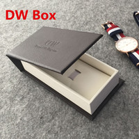 Wholesale Top Quality Luxury Brand DW Leather Watch Boxes Fashion Casual box watch cases package wristwatches boxes Gift Box For Watch