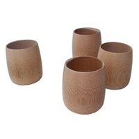 Wholesale Chinese Tea Mugs - Wholesale - Chinese bamboo cup for kung fu tea cup natural handmade vintage mugs Japanese style drinking wine milk drinkware