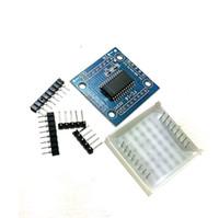 комплект mcu оптовых-MAX7219 матричная модель MCU управления дисплей модуль DIY комплекты B00142 бард