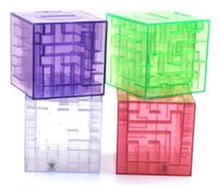 Wholesale Money Coins Games - MONEY MAZE coin box puzzle gift game prize saving bank educational toys Science & Discovery Free shipping