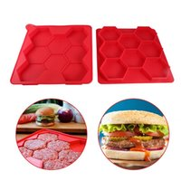 8 Griglia Hamburger Stuffed Press Maker Burgers Patty Makers Stampo Carne Utensili da Pollame Kitchen Gadgets Accessori Forniture Prodotti