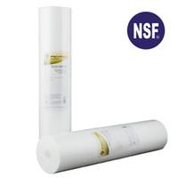 """gummiboden verkauf großhandel-4,5 """"x 20"""" Polypropylen Sediment Wasserfilterpatrone 50 Mikron bis 5 Mikron Dual Gradient Density für Wasserfilter GDG-5005-20"""