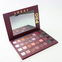 Wholesale Cheap Full Set Makeup - LORAC Holiday Mega PRO Eye Shadow Palette 32 Color Makeup Eyeshadow Limited Edition Brands Cosmetic Set DHL Free Shipping Cheap Price