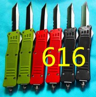 Wholesale Microtech Folding Knives - MICROTECH troodon 616 6 models double action folding knife troodon knives tactical camping hunting folding knives 1pcs