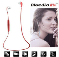 Wholesale Bluedio CI3 Sports Bluetooth headphones wireless Bluetooth Headphones Headset Earphones for Outdoor Sports Gift package