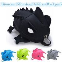 Designer Camaleão Crianças Mochilas Dinosaur Monster Mochila para adolescentes Cartoon Animal Shoulder School Bag Gift For Girl Boy Free Ship