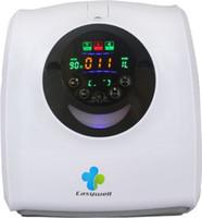 Wholesale Oxygen Generators For Home - Advanced PSA technology portable oxygen generator EW-50A General Function (Standard configuration) for Beauty, office,salon ,home -Black