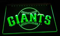 Wholesale Giant Sign - LS2427-g Giants LED Neon Light Sign Decor Free Shipping Dropshipping Wholesale 6 colors to choose