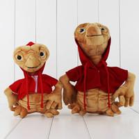Wholesale Wholesale Alien Stuff - Wholesale-2pcs lot ET Extra Terrestrial Alien Soft Stuffed Toys Kids Plush Doll 19cm 25cm