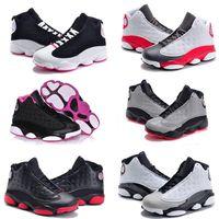 sneakers meninas on-line venda por atacado-Venda online Barato Novo 13 Crianças tênis de basquete para Meninos Meninas tênis Crianças Babys 13 s tênis de corrida Tamanho 11C-3Y