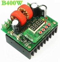 Wholesale digital adjustable power supply for sale - Group buy 5 B400W NC DC digital controlled DC power supply adjustable boost module Ammeter voltage current meter V10A