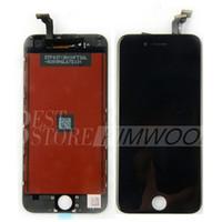 écouteur iphone achat en gros de-A +++ LCD Écran Tactile Digitizer Écran Complet avec Cadre Remplacement Complet Remplacement Pour Iphone 6 Iphone 6 Plus Écouteur Anti-poussière Mesh DHL