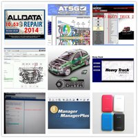 Wholesale Mitchell Repair - All data Mitchell on demand + Alldata v10.53 auto repair software + ATSG +ElsaWin 5.2 + Manager with 47 software in 1TB HDD