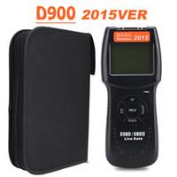 Wholesale Nissan Fastest Car - 2015 Version D900 Universal Car OBD2 EOBD CAN Fault Code Reader Scanner Diagnostic Tool DHL Fast Shipping