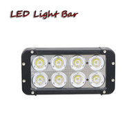 Wholesale Wholesale Automotive Bumpers - Free shipping 6pcs 80W led light bar car driving headlight for offroad 4x4 automotive motorcycle SUV bumper ATV pick up truck working light