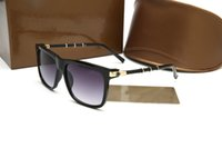 Wholesale Retro Square Clear Lens Glasses - 2017 Novel luxury brand designer vintage Eyewear Italy Retro G Sunglasses men women shades Fashion glasses UV400 with original case