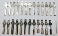 serrure pick gun livraison gratuite achat en gros de-25pcs / lot outils de serrurier verrouiller la broche de sélection pour la touche de bosse électrique Pick Gun livraison gratuite
