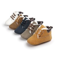 Wholesale Baby First Walkers Baby Shoes Soft Bottom Fashion Tassels Baby Moccasin Non slip PU Leather Prewalkers Boots