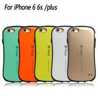 casos de iface mall al por mayor-iFace Mall Funda híbrida para iPhone 7 6 6S Plus SE Samsung S6 S7 colorido billetera cubierta silicona TPU silicona
