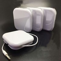 iphone 5s volume du micro écouteur achat en gros de-Ecouteurs intra-auriculaires avec micro et réglage du volume Casque pour iPhone6S 5S Plus avec boîte de vente au détail