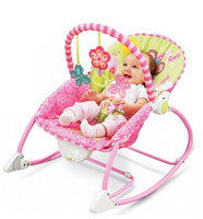 Wholesale Electric Baby Rocking - Retail Baby Rocking Chair Musical Electric Baby Swing Chair High Quality Vibrating Baby Bouncer Chair Adjustable Kids Recliner Cradle Chaise