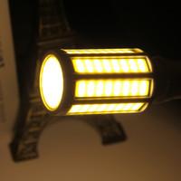 mısır koçanı led ışıklar toptan satış-2000Lm Ultra Parlak E27 15 W LED Mısır Ampul Sıcak Beyaz / Saf Beyaz Işık 110 V yeni varış ücretsiz kargo