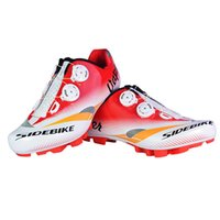Wholesale Mountain Bikes Shoes - SIDEBIKE Cycling Shoes Mountain Bike Anti-skid Breathable Bicycle Shoes Zapatillas Ciclismo MTB Professional Sneakers Zapatillas