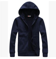 Wholesale Hood Men S Hoodies Cardigan - 2016 Hot sale Mens Hoodies and Sweatshirts autumn winter lovers casual with a hood sport jacket men coat hoodie men