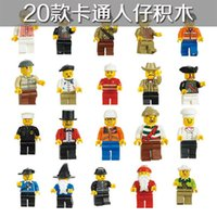 Wholesale Different Models - Minifigures With Different Model Figures Building Blocks Educational Toy For Kids DIY Bricks Toys Action Figures