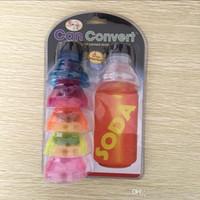 neue plastikflaschendeckel großhandel-Kann Kappen-Staub-Beweis-Dichtung herauf Flaschenkapsel-Nahrungsmittelgrad-Getränkesoda-Pop-Top-Getränk-Deckel-neue Ankunft 4kn F R umwandeln