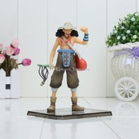 Wholesale Two Pieces Pvc Boxes - Anime Animation One Piece Two Years Later New World the Usopp Action Figures PVC Doll Toys Collection packed in box approx 14cm