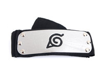 Wholesale F Accessories - Z&F Naruto Headbands Metal&Cloth 95cm Cosplay Headband Headpiece Head Bands Costume Match Wig Halloween Party Cos