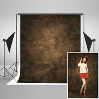 Wholesale Muslin Backdrops For Photography - Kate 5x7ft   1.5x2.2m Photography Backdrops Retro Solid Brown Background for Photographers Photo Studio Props J04303