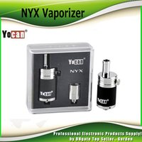 Wholesale Bottom Dual Coil - Original Yocan NYX atomizer Vapor Dry Herb Wax Vaporizer with Quartz Dual Coil Bottom Airflow Control 2204021