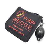 automatische verriegelungsöffnungswerkzeuge großhandel-KLOM Pumpe Keil Bauschlosserwerkzeuge Auto Geben Air Wedge Airbag Verschluss-auswahl Set Öffnen Auto Türschloss Größe 5,9 zoll * 5,9 zoll