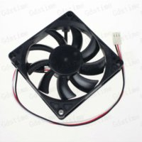 Wholesale Cpu Fan P4 - 2Pcs GDT 3pin 80mm 80x80x15mm 8CM Brushless Computer CPU Cooler Cooling Fan cpu fan p4 cpu fan computer
