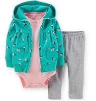 Wholesale Boys Snowsuit 12 - 2016 baby 3 piece of a set , baby boy girl set bebes winter new style snowsuit abrigos roupas