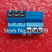 Wholesale Terminal Block Pin Connector 5mm - Wholesale-Free Shipping100PCS 3 Pin Screw Terminal Block Connector 5mm Pitch 5.08-301-3P 301-3P 3pin