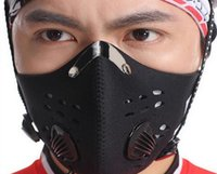 Wholesale Newest package Outdoor Sport Mask for Training Boxing Newest pacakge classic black black out