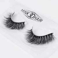 Wholesale Eyelashes Extensions For Sale - Hot sale natural false eyelashes fake lashes long makeup 3d mink lashes extension eyelash mink eyelashes for beauty