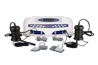 Wholesale Wrist Machine - Detox Machine For Two Persons Dual Ion Cleansing Machine Detox Foot Spa Single Screen With Massage Slipper Slice Wrist Belt Foot AH-805C